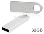 Kingston 32GB DTSE9 металл USB 2.0 Flash Drive (серебро)